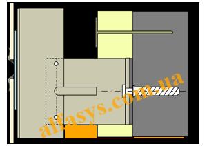 кляймерная система крепления керамогранита