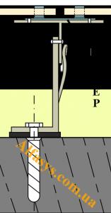 кляймер для фасада керамогранит